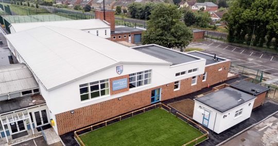 Warblington School Aerial