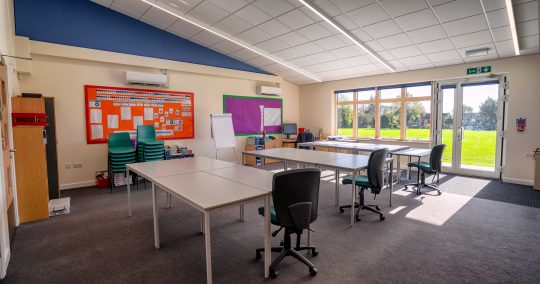 Castle School Classroom