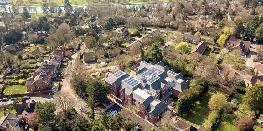 Beechwood Grove Aerial Image