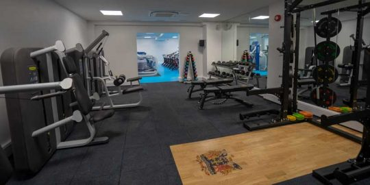 Flint House Gym Refurbishment