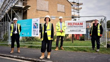 Works Started on Site: Blenheim Court, Carterton.